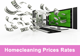 Homecleaning Prices Rates