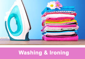 ironing cleaning services london