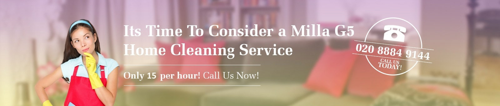 Millag5 Home Cleaning Service Slide