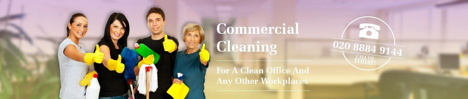 Commercial Cleaning Slide