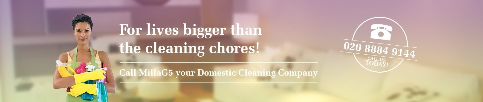 MillaG5 Cleaning Agency Slide